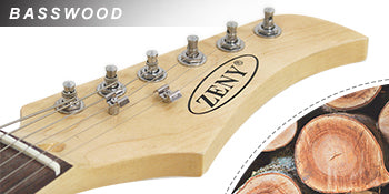 Zeny Eletric Guitar Basswood Material