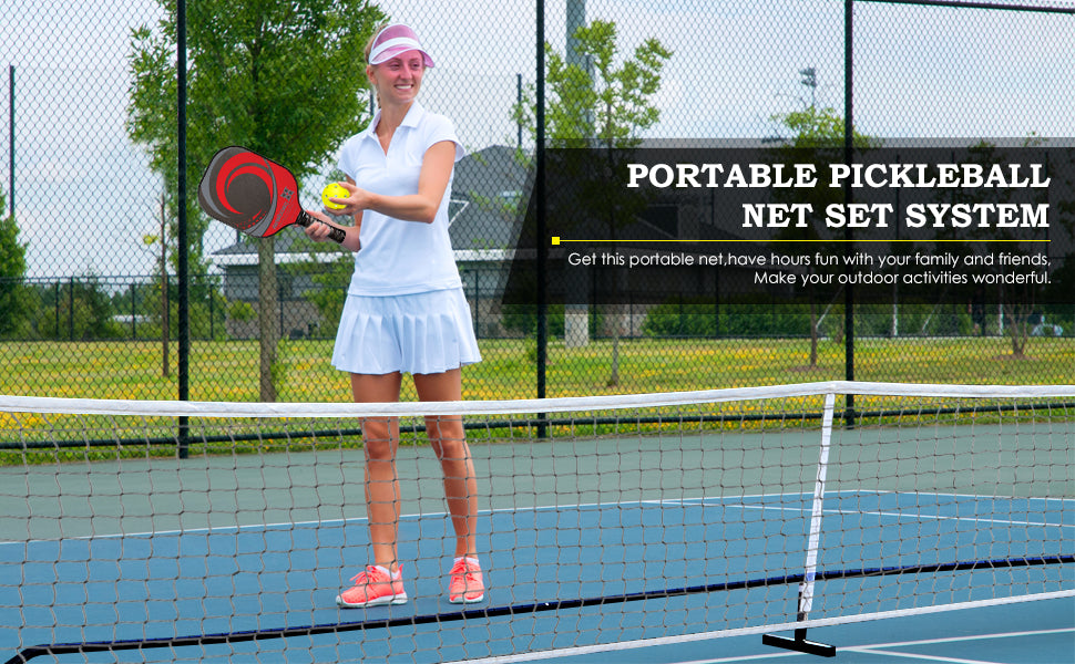 Zeny Pickleball Net System