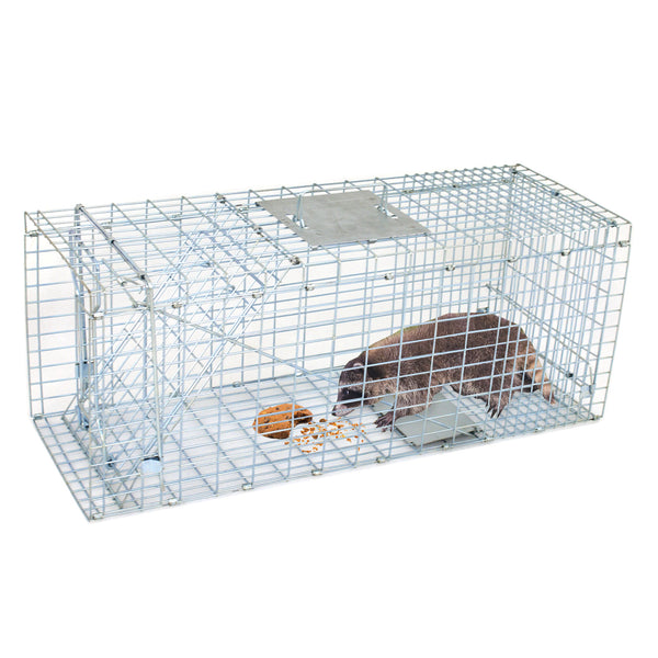 Zeny Live Animal Cage Trap 24 Quot 31 Quot Steel Cage Catch