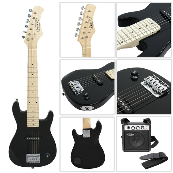 zeny 30 inch kids electric guitar with 5w amp cable cord shoulder st zeny products. Black Bedroom Furniture Sets. Home Design Ideas