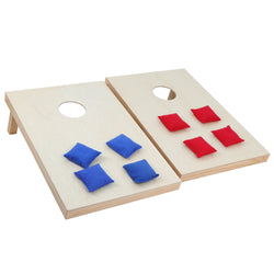 ZENY™ Solid Wood Premium Cornhole Set