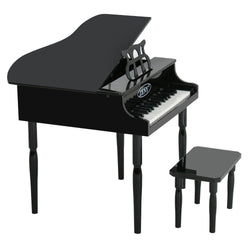 ZENY™ Children Baby Piano 30 key Toy Grand w/ Kids Bench Wood,Black