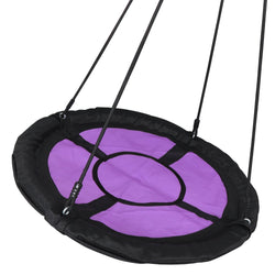 ZENY™ 40'' Web Tree Swing Spide Net Swing with Adjustable Rope, Great for Tree, Playground, Playroom