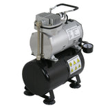 ZENY™TC-20T Oil-less Portable Air Compressor W/3L Tank,6ft Hose (TC-20T W/Tank&Hose)