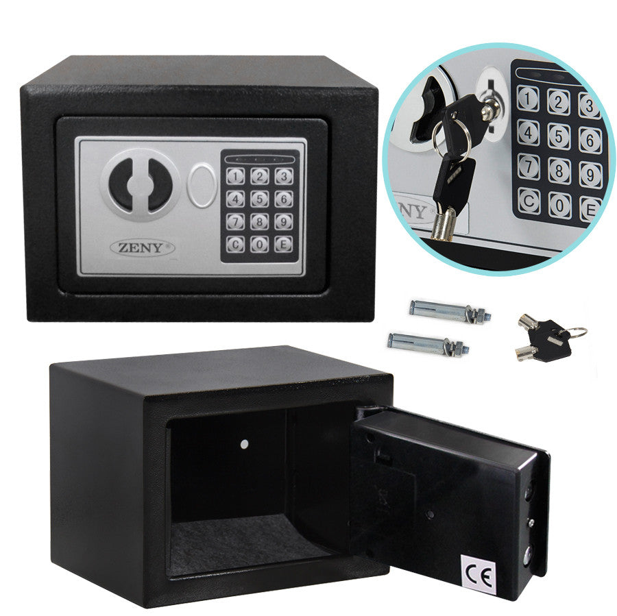 ZENY™ Safety Black Digital Electronic Depository Security Safe Drop Box