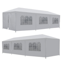 ZENY™ 10'x30' Wedding Party Tent Outdoor Camping Gazebo BBQ Pavilion Canopy Cater Events