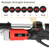 ZENY™  HM225B Highest 1700rmp Pro Folding Electric Variable Speed Drywall Sander 7 Speed 710 W W/Free Sanding Discs