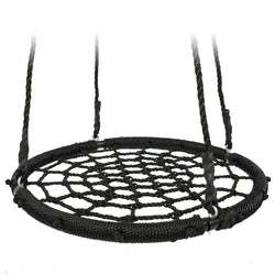 ZENY™ 24'' Web Tree Swing Spide Net Swing with Adjustable Rope,Great for Tree,Playground,Playroom