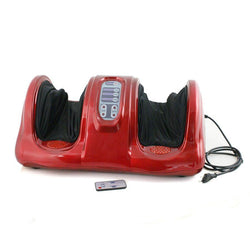 ZENY™  Shiatsu Kneading Foot Massager w/ Remote Control - Red
