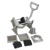ZENY™ Stainless Steel French Fry Cutter Potato Vegetable Slicer Chopper 4 Blades