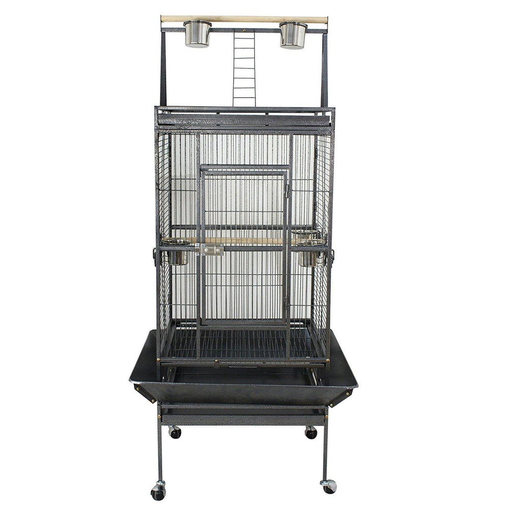 "Zeny™ 61""/68"" Birdcage Pet Large Bird Cage Play Top Parrot Cockatiel Cockatoo Parakeet Finch Pet Supply"