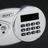 Zeny™Electronic Security Safe 0.5CF Digital Lock Fire Proof Jewelry Cash Gun Box (0.5 Cubic Feet)