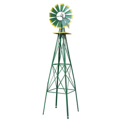ZENY™ Windmill Ornamental Garden Weather Vane Weather Resistant, 8',