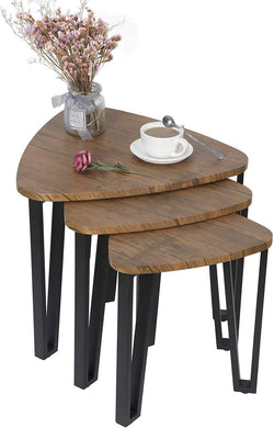 ZENY™  Nesting Coffee End Tables Modern Furniture Decor Side Table