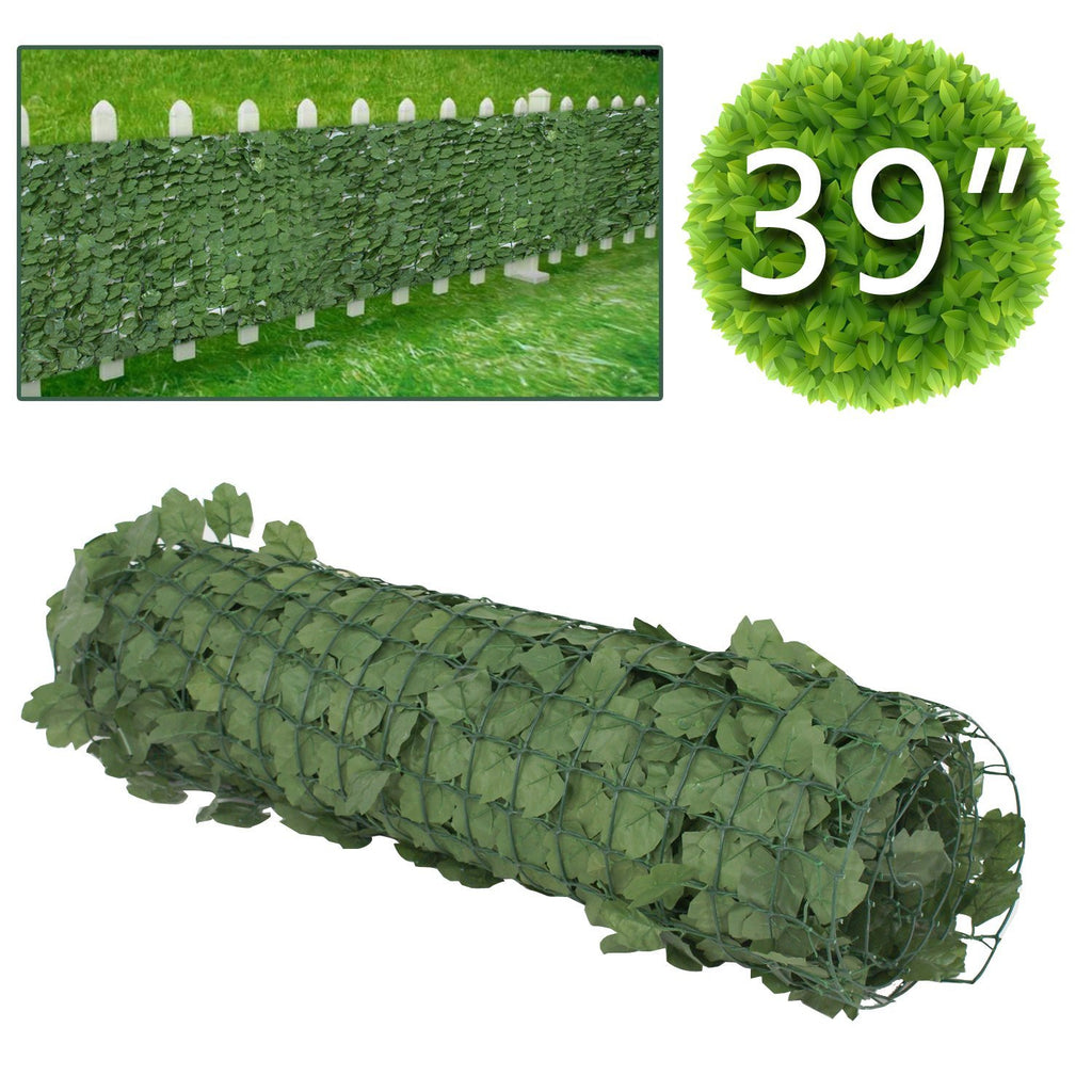 ... Windscreen Patio Outdoor Wall Decor. ZENY™39u0027u0027 X 94u0027u0027 Artificial Faux  Ivy Leaf Privacy Fence Screen