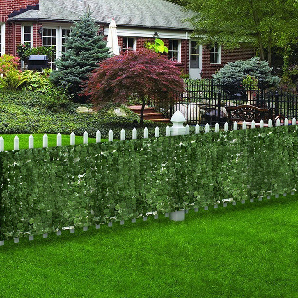 ZENY™59'' x 94''Artificial Faux Ivy Leaf Privacy Fence Screen Decoration Panels Windscreen Patio Outdoor Wall Decor