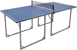 ZENY™ Foldable Table Tennis Table with Net Portable Ping Pang Tables for Indoor Outdoor Use Regulation Height Tennis Table Set