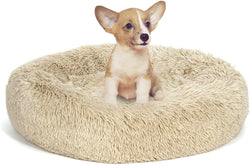 ZENY™ Pet Bed for Dogs & Cats, Anti-Slip, Machine Washable, Ultra Soft Washable Dog and Cat Cushion Bed