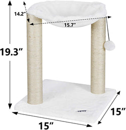 ZENY™  Cat Scratching Post and Hammock Cat Tree for Kitten