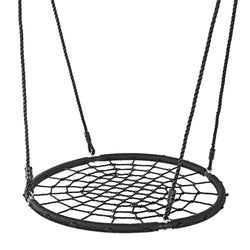 "ZENY™ 40"" Tire Spider Web Swing Detachable Nylon Rope Swivel Playground Platform Swing"