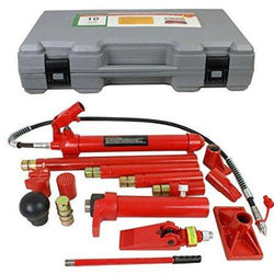 ZENY™ 10 Ton Porta Power Hydraulic Jack Body Frame Repair Kit Auto Shop Tool