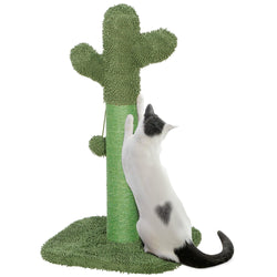 ZENY™ Cat Scratching Post Cactus Cat Scratcher with Dangling Ball