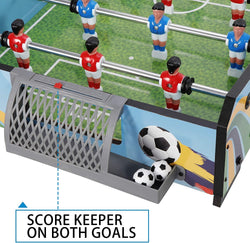 ZENY™ 40 in Tabletop Foosball Table Compact Mini Indoor Table Soccer Football Games for Arcades,Game Room,Kids Playroom