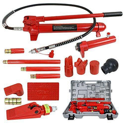 ZENY™ 10 Ton Porta Power Hydraulic Jack Body Frame Repair Kit Auto Shop Tool Lift Ram
