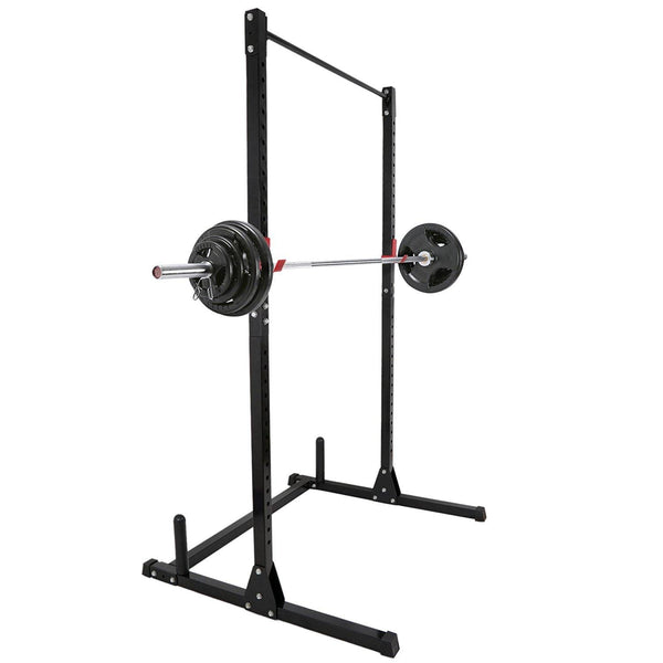 Zeny Adjustable Height Power Squat Rack Cage Stand System