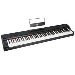 ZENY™ 88 Key Beginner Digital Piano Full Size Semi Weighted Keys, Built in Speakers and Power Supply