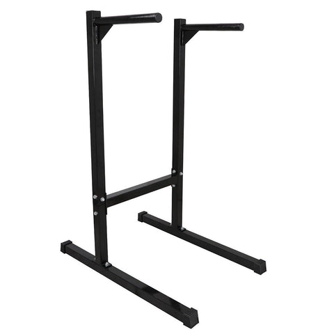 ZENY™ Dipping station Dip Stand Pull Push Up Bar Fitness Exercise Workout Gym Heavy Duty