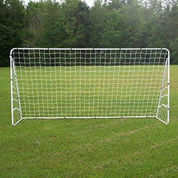 ZENY™ 12 X 6 FT Portable Soccer Goal,Football Goal Steel Post Netting Sports Training Net Kids Soccer Goals for Backyard