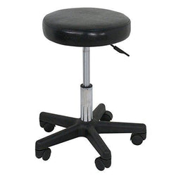 ZENY™ Beauty Salon Rolling Stool Tattoo Massage Facial Spa Adjustable Stool Chair (black)