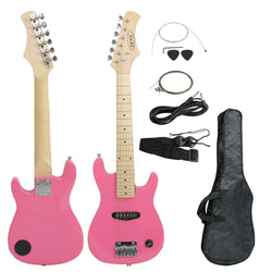 "ZENY™ 30"" Kid's Electric Guitar Much More Guitar Combo Accessory Kit,Pink/Blue/Black"