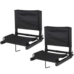 ZENY™ Folding Stadium Seats for Bleachers With Portable Shoulder Straps