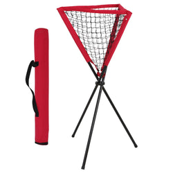 ZENY™ Portable Baseball Softball Practice Ball Caddy Batting Practice Ball Holder w/ Carry Bag Removable
