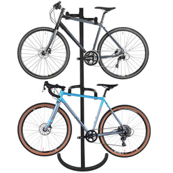 ZENY™ Gravity Bike Stand Rack Garage Bike Storage Rack Organizer Wall Bike Rack 2 Bike Parking Stand