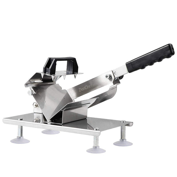 Zeny Manual Frozen Meat Slicer Stainless Steel Meat
