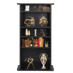 "ZENY™ Multimedia Storage Cabinet DVD Rack Book Shelf Organizer Stand Audio Media Tower, 36"" X 19"" X 7"""