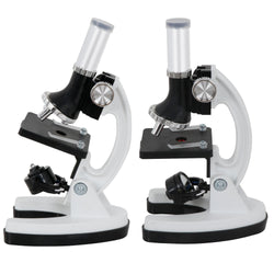 ZENY™ Kids Microscope Kit Beginner's Science Kit w/ LED 100X 600x and 1200x Magnification