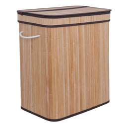 ZENY™ Divided Laundry Hamper Double Dirty Clothes Storage Sorter