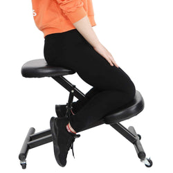 ZENY™ Ergonimic Kneeling Chair Ergonomically Designed Knee Stool with Casters Adjustable Height