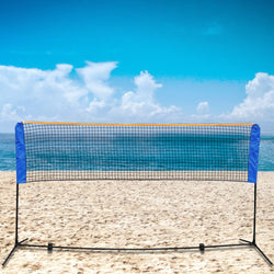 ZENY™ 10 Ft Long 5 Ft High Portable Badminton Net Beach Volleyball Tennis Competition Sports Training Net Set