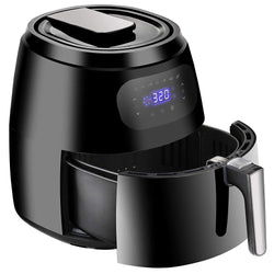 ZENY™ Air Fryer w/Digital Screen, XXL 7.6QT Large,8-15 Modes,1700W w/Auto Off Function &Recipe