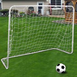 ZENY™ 4' X 6' Folding Soccer Goal with Net Nelon Sports Training,Steel Goal Frame