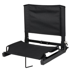 ZENY™ Folding Stadium Seat Chair for Bleachers Delux Wide Bleacher Seats with Shoulder Straps