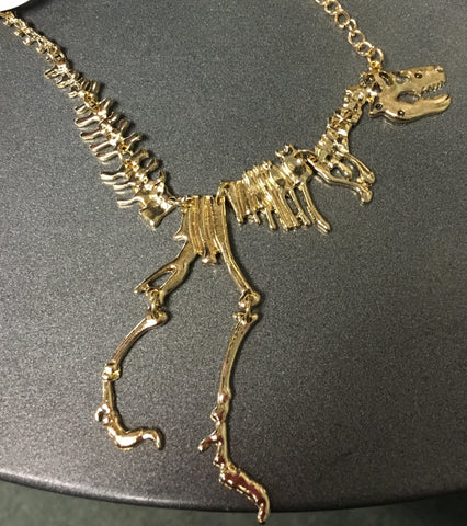 Dino fossil necklace6.99