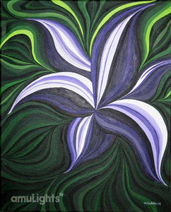 Purple Flower Painting