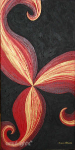 Fire Flower Painting 2