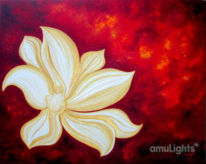 Fire Flower Painting 4